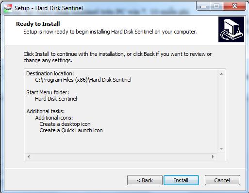 Hướng dẫn cài đặt Hard Disk Sentinel trên PC win 7, 10 miễn phí g