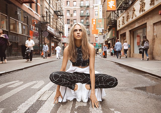 Eniwhere Fashion - News on Fashion - Cara Delevingne Puma