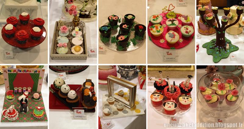 Expo Tarta 2013 :  les autres propositions de la catégorie Cupcakes