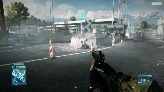 O que sabemos sobre o Robô EOD Bot em Battlefield 3?