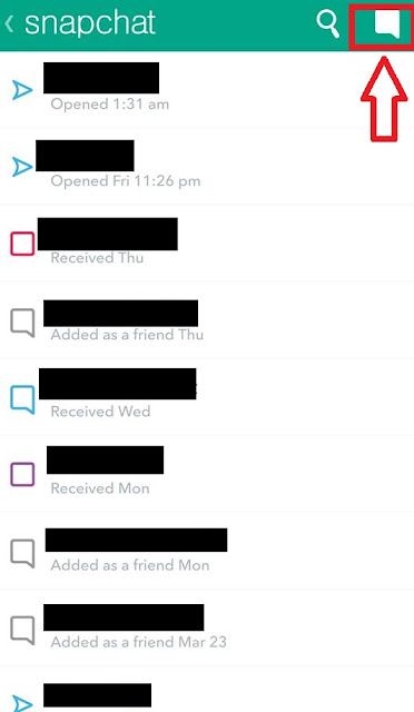 how to send private message on snapchat