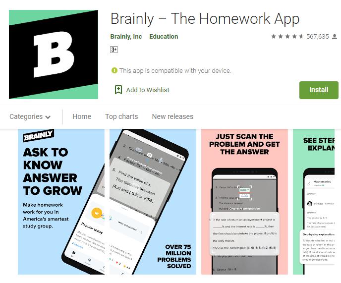brainly app