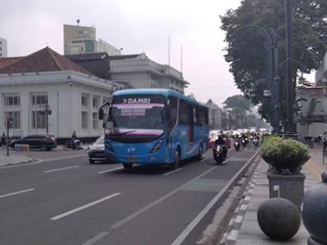 Inilah 11 Trayek Bus DAMRI di Kota Bandung yang Kembali Beroperasi
