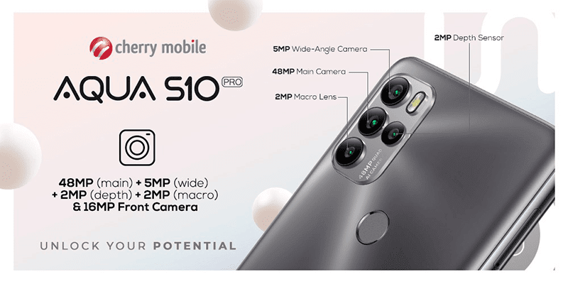 It has a 48MP quad-camera system with a 16MP selfie camera