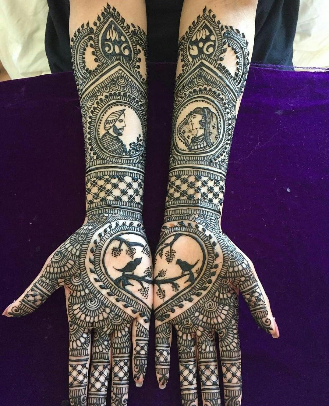 45 Latest Full Hand Mehndi Designs New Full Mehndi