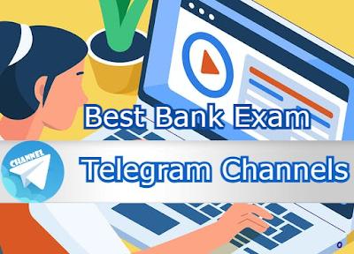 Telegram Channels for Bank Exams