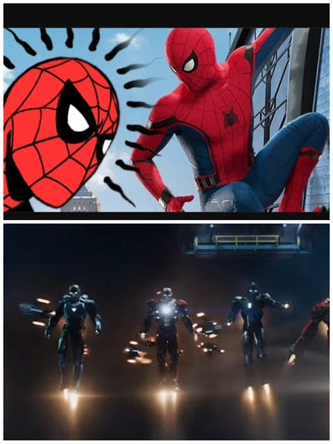 SpiderMan vs IronMan: Ability
