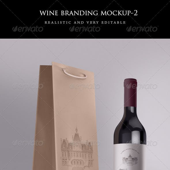 This diverse list include mockups of wine bottle, mugs, box, tote bag,. 60 Best Wine Bag Mockup Templates Free Premium