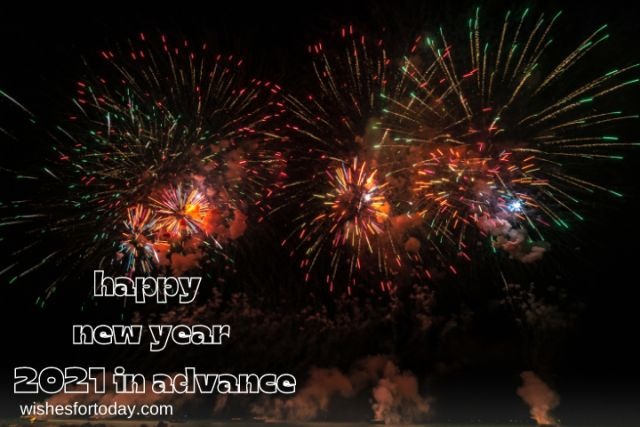 Happy new year 2021 in advance Images for friends