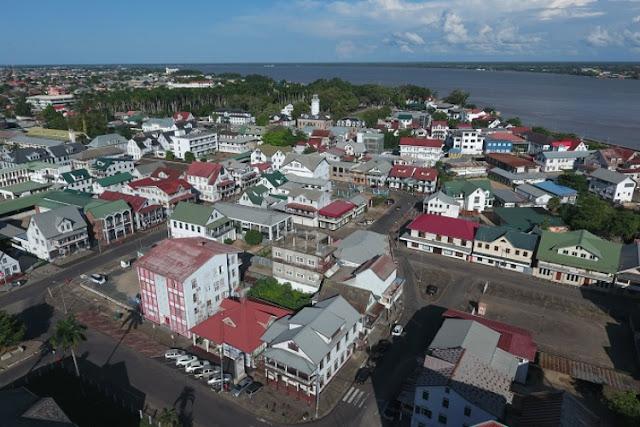 População do Suriname é concentrada na região costeira (Foto: Reprodução)