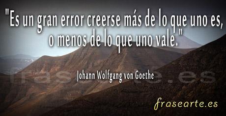 Frases motivadoras de Johann  Goethe