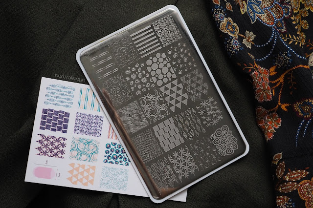 Textiles series clear jelly stamper