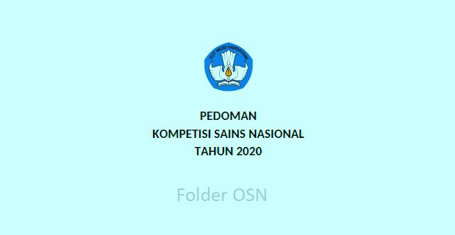Pedoman KSN 2020