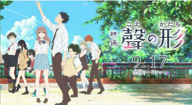 Koe no Katachi - Anime Romance School 2017 Terbaik