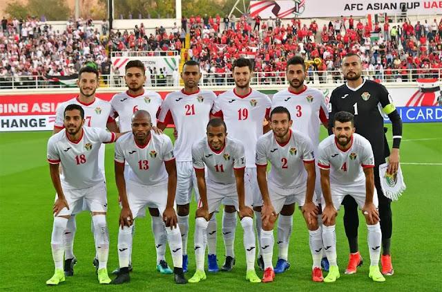 منتخب الاردن يضرب شباك منتخب اندونسيا برباعية في المباراة الودية