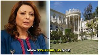 ايقاف قرار هدم فيلا تملكها وداد بوشماوي في العاصمة بعد تدخل من كبار مسؤولي الدولة !!