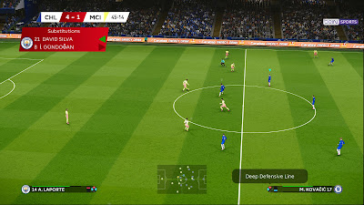 PES 2020 England Scoreboard Pack by SG