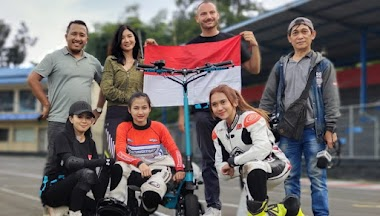 Ke Italia, 2 Skuter Elektris Indonesia Ikut Prakualifikasi Kejuaraan Dunia