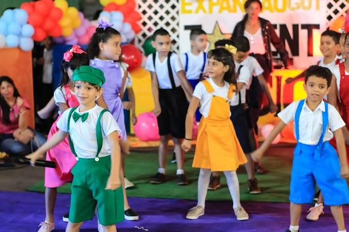 Colégio Expansão apresenta 5° Musical no Show de Talentos em Santa Helena