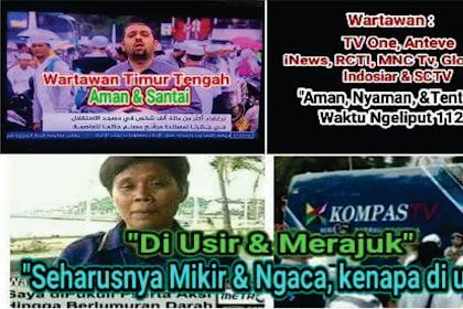 Meme Jleb Banget Buat Metro Tv dan Kompas, Disuruh Ngaca dan Mikir Mengapa Mereka Diusir Padahal Wartawan Lain Tidak