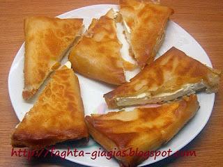 Φέτα σαγανάκι σε φύλλο για πίτες - από «Τα φαγητά της γιαγιάς»