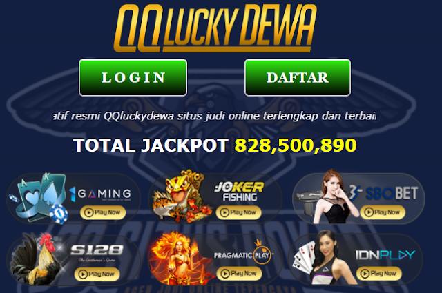QQLuckyDewa - Daftar Situs Agen Bandar Judi QQ Slot 88 Bola Casino Poker Domino Online Terpercaya