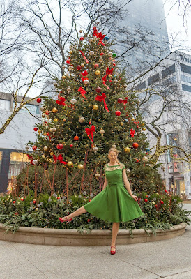Green Christmas Dress
