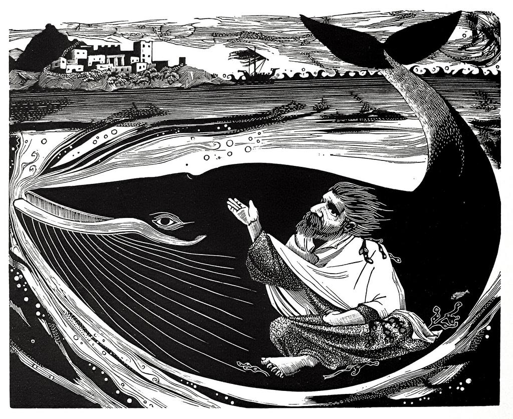Reflect on Jonah's prayer.