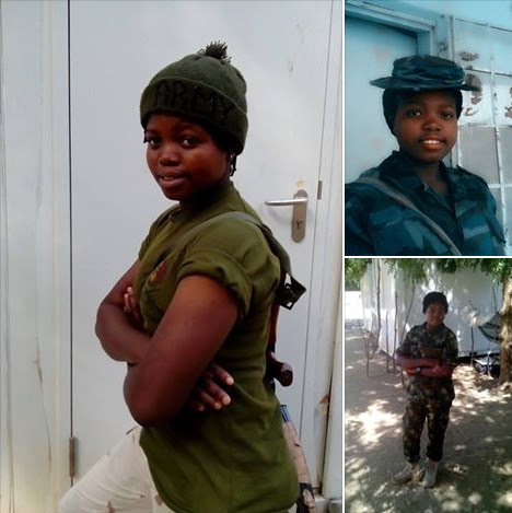 BAD NEWS! Female Soldier Beheaded by Boko Haram Men