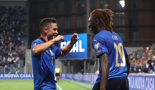 ملخص واهداف مباراة ايطاليا وليتوانيا (5-0) تصفيات كأس العالم