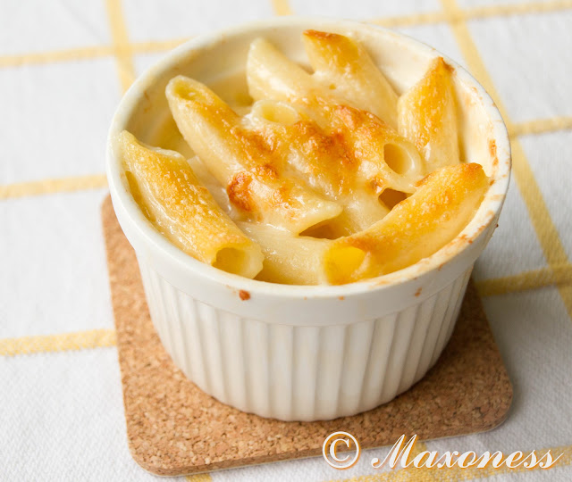 Запеканка из мелкой пасты с сыром по-итальянски. Итальянская кухня