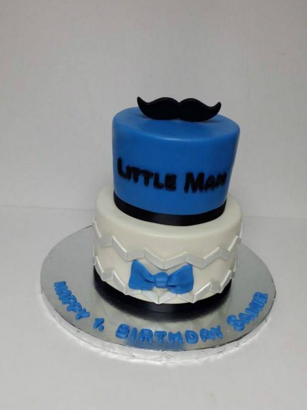 My Cake Sweet Dreams Little Man 1st Birthday Cake