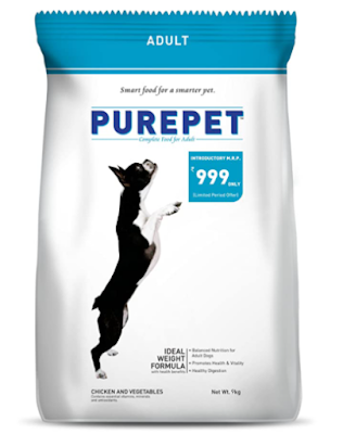 Purepet Chicken and Vegetables Adult Dog Food