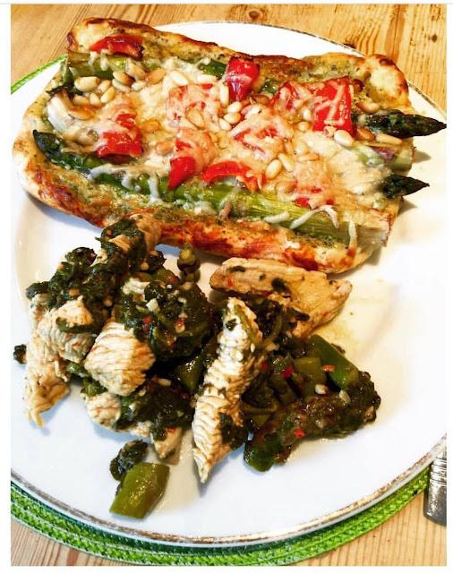 Asparagus and Parmesan Tart