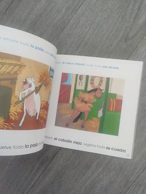 ief mes filles et moi lire français espagnol