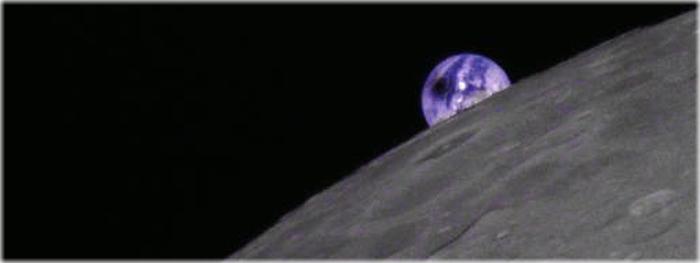eclipse solar fotografado da Lua