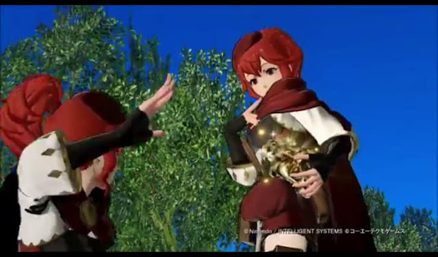Third screenshot from new Fire Emblem Warriors gameplay