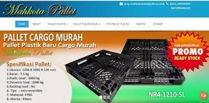 Promo Pallet Baru Cargo Harga Murah di Palletplastik.net