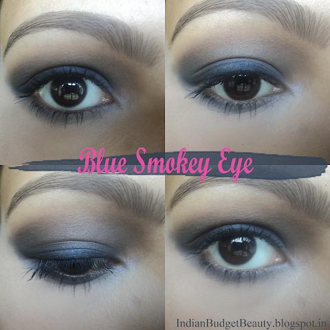 EOTD : Blue Smokey Eye