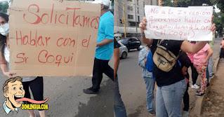 Vecinos de El Paraíso piden ayuda a El Coqui para que evite las invasiones