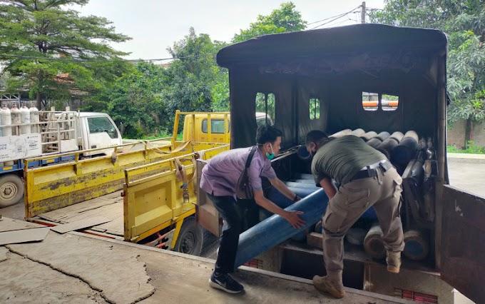 PT Samator Gas Industri Bantu Pemkot Depok Empat Ton Oksigen Liquid