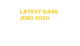 PNB Bank Recruitment 2020