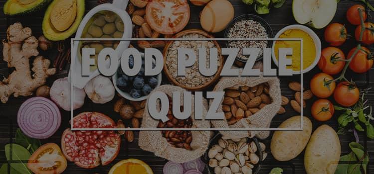 Food Puzzle Quiz Answers 100% Score Quiz Diva