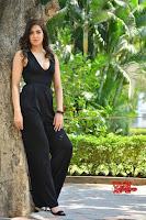 Sakshi Chaudhary in beuatiful black Deep neck Top and trousers at oollo pelliki kukka ~  Exclusive Galleries 039.jpg