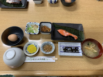 ニセコ五色温泉旅館の朝食