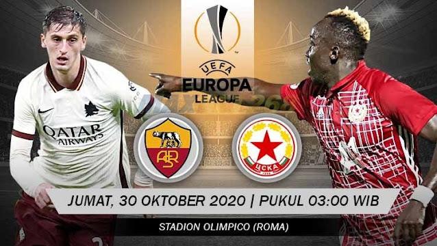 Prediksi AS Roma Vs CSKA Sofia, Jumat 30 Oktober 2020 Pukul 03.00 WIB