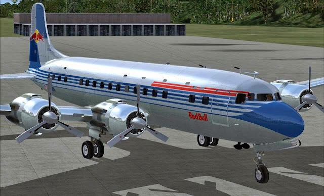 Just Flight - DC-6B - Legends of Flight SP1 FSX - Ariel Creation