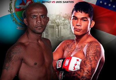 Luiz Betão e Helithon Santos disputam o cinturão interino de peso-pena - Divulgação