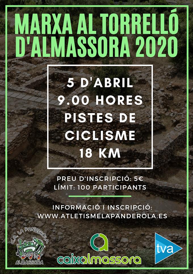 MARXA AL TORRELLÓ D'ALMASSORA 2020