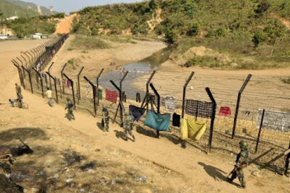 """भारत ने """"भारत-म्यांमार सीमा"""" प्रवेश बिंदुओं को सील कर दिया"""